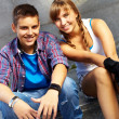Stock Photo: Youthful couple