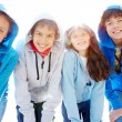 Group of teens — Stock Photo #11676350