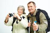 Taking photo — Stock Photo
