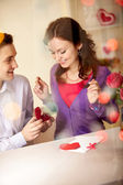 Declaration of love — Stock Photo