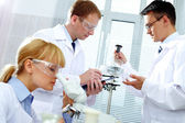 Working clinicians — Stock Photo