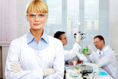 Confident scientist — Stock Photo