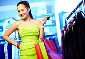 Smart shopper — Stock Photo