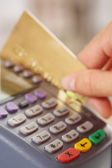 Paying for goods — Stockfoto