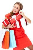 Acheter des cadeaux — Photo