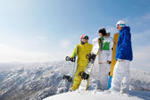 Snowboarders — Stock Photo