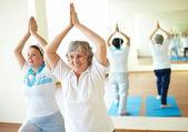 расслабляющие упражнения — Стоковое фото