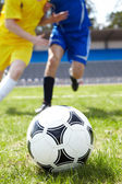 Ball in grass — Stock Photo