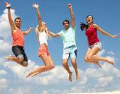 Summer leap — Stock Photo