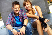 Youthful couple — Stock Photo