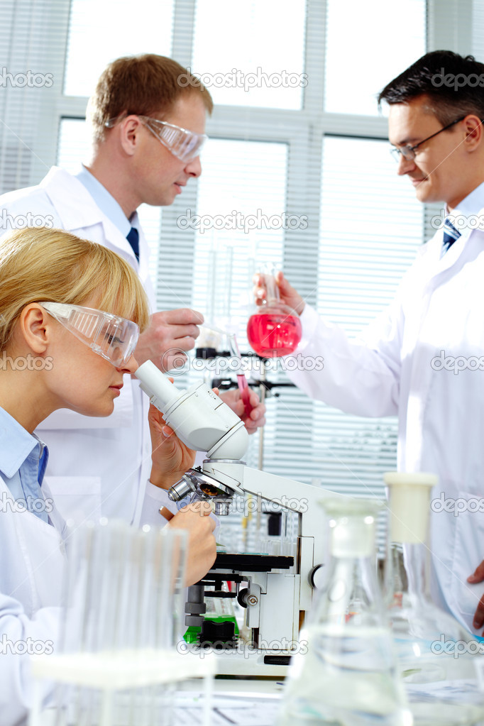 Working in lab — Stock Photo #11673035