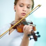 Violinist — Stock Photo #11691385