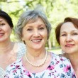 Stock Photo: Senior women