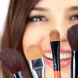 Cosmetic brushes — Stock Photo