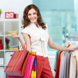 Smart shopper - Stock Photo