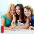 Three girlfriends — Stock Photo #11694088