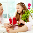 Giving presents - Stock Photo