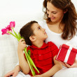 Mother and son — Stock Photo #11694503