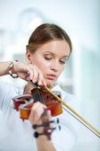 скрипач — Стоковое фото