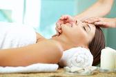 Massaging face — Stock Photo