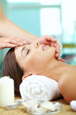 Facial at spa salon — Stock Photo