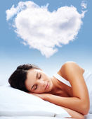 Love dreams — Stock Photo