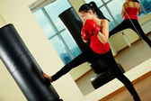 Kick boxing — Foto Stock