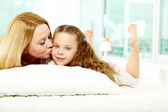Maternal love — Stock Photo