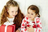 Siblings — Stockfoto