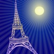 Eiffel tower — Stock Vector #11695941