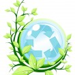 Recycle concept - Stock Vector