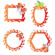 Royalty-Free Stock Vector Image: Christmas frames