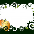 Royalty-Free Stock Vector Image: Frame a pumpkin