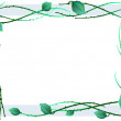 Royalty-Free Stock Vector Image: Green frame