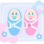 Постер, плакат: New born babies