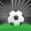 Soccer ball — Vector de stock