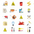 Royalty-Free Stock Vector Image: Building and construction icons