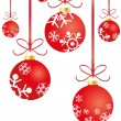 Christmas balls — Vector de stock #11697467