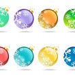 Royalty-Free Stock Imagem Vetorial: Christmas balls