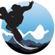 Snowboarder — Stock Vector #11697835