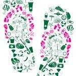 Flip-flops — Stock Vector #11697947