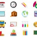 School theme — Stock Vector #11698092
