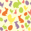 Easter background — Image vectorielle