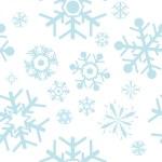 Schneeflocken — Stockvektor
