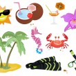 Summer icons — Stock Vector #11698209