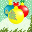 Royalty-Free Stock Vectorafbeeldingen: Christmas composition