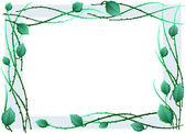 Green frame — Wektor stockowy