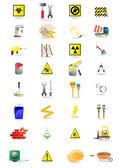 Construction vector icons — Stock Vector