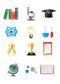Věda ikony — Stock vektor