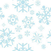 Snowflakes — Stock Vector
